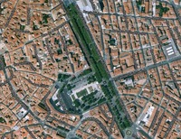 Allee Paul Riquet, Bezier