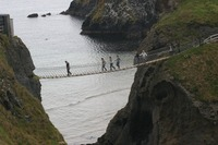 Carrick a Rede footbridge